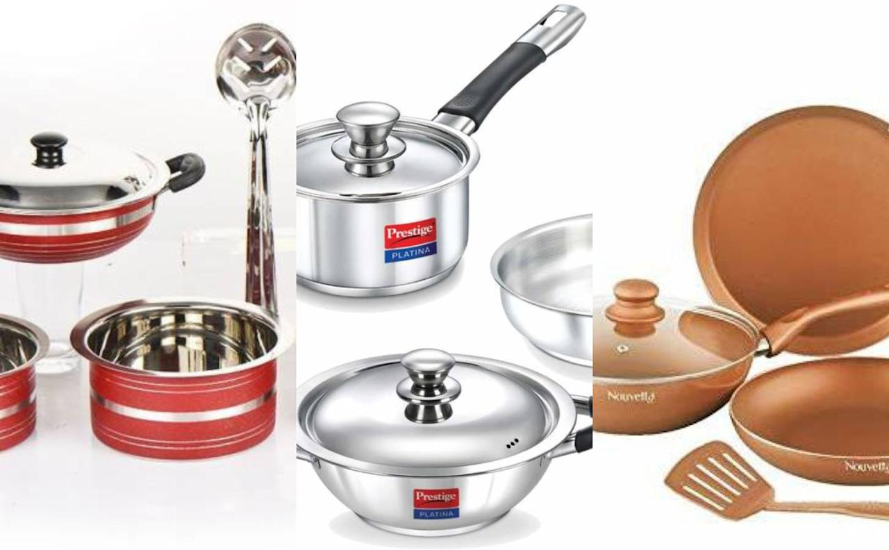 This Dhanteras, go healthy with stainless steel cook-n-serve dishes; or better still go for copper coated utensils.