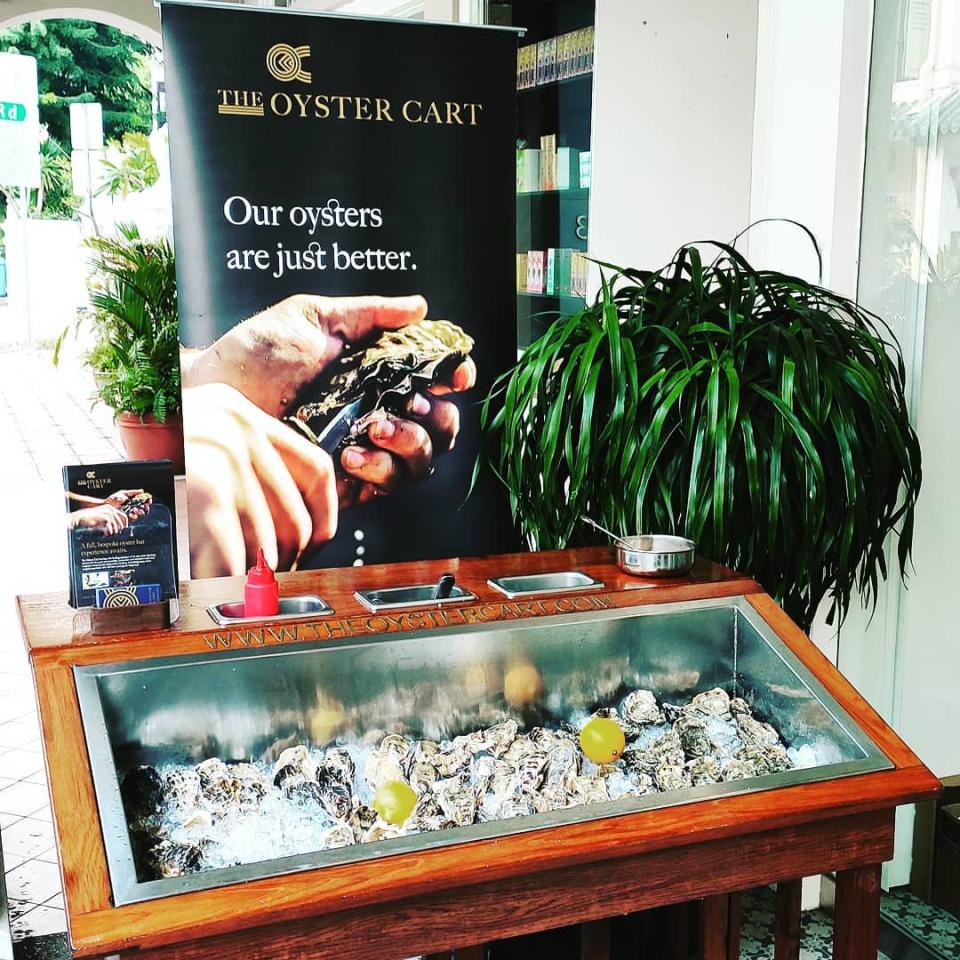 Oyster Cart (PHOTO: Oyster Cart Singapore)