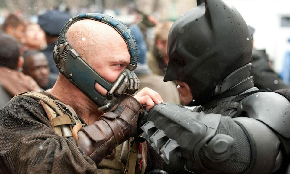 Hardy's Bane will always be remembered for his baffling vocal delivery that inspired a thousand impressions, but it was also a masterclass in physical performance too. Here, at last, Christian Bale's Batman had met his match, and Hardy was totally believable as the man who would break the Dark Knight in two.