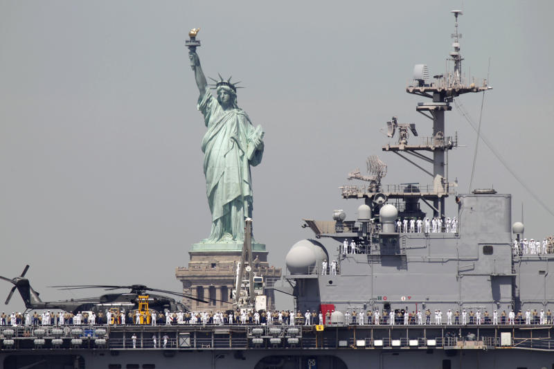 NYC's Fleet Week decimated by federal budget cuts
