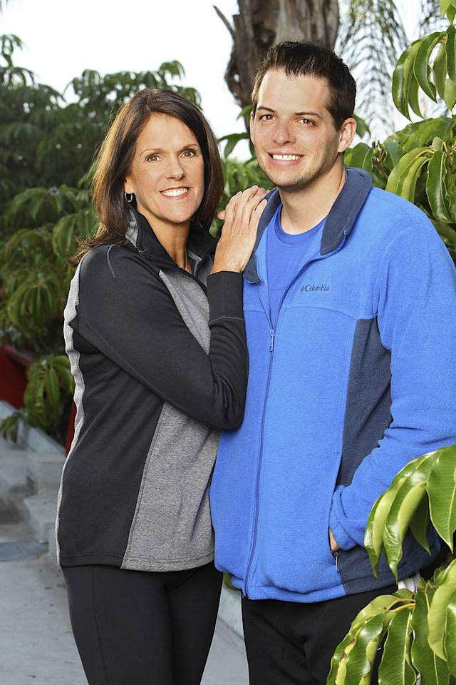 "Margie and Luke Adams, Mother / Son team race around the world for a second chance to win one million dollars, on ""The Amazing Race: Unfinished Business."""