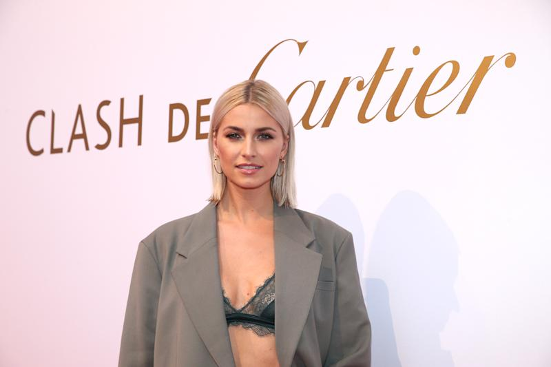 "MUNICH, GERMANY - OCTOBER 24: Lena Gercke during the ""Clash de Cartier - The Opera"" event at Eisbachstudios on October 24, 2019 in Munich, Germany. (Photo by Gisela Schober/Getty Images for Cartier)"