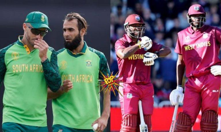 Dream11 Team South Africa vs West Indies ICC Cricket World Cup 2019