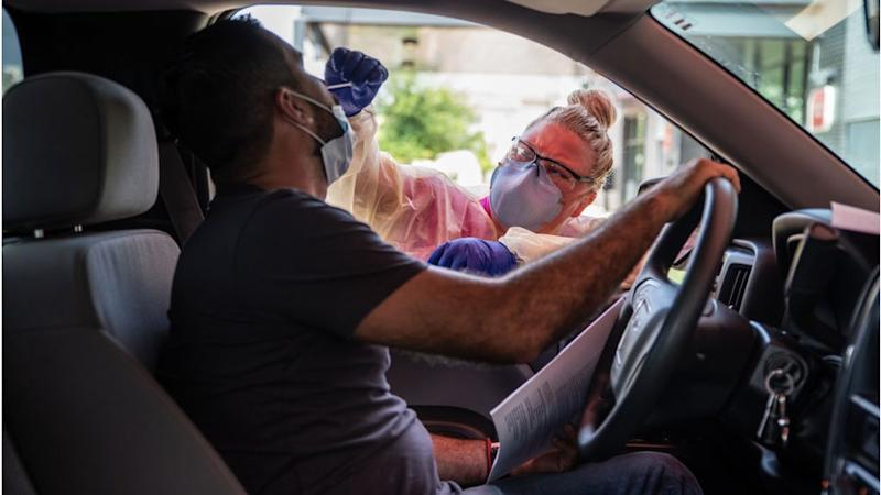 A driver gets tested in Austin, Texas