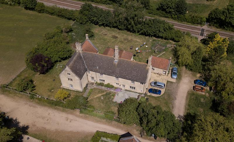 Barbara and Simon Campbell bought the 16th century property for £270,000. (SWNS)