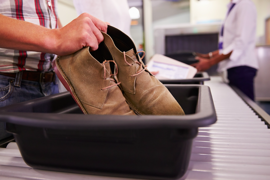<em>The research found viruses were most commonly found on the plastic trays that are circulated along the passenger queue at the hand luggage X-ray checkpoint (Rex)</em>