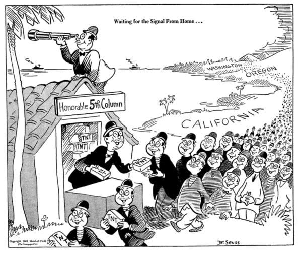 Image: This cartoon was published in the New York newspaper