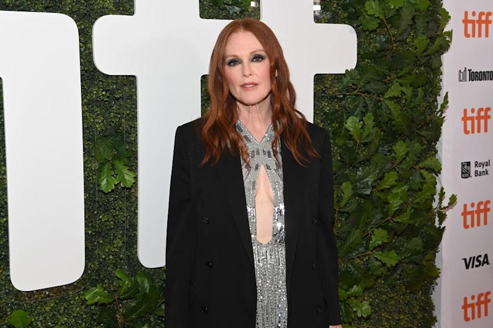 Julianne Moore appears to be ageing backwards, pictured in September 2021. (Getty Images)