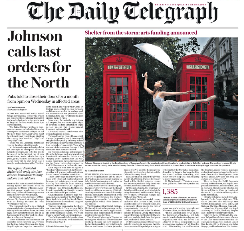 Photo by: Daily Telegraph