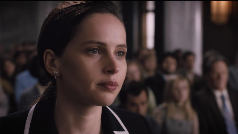Felicity Jones Channels Young Ruth Bader Ginsburg In First On The Basis Of Sex Trailer
