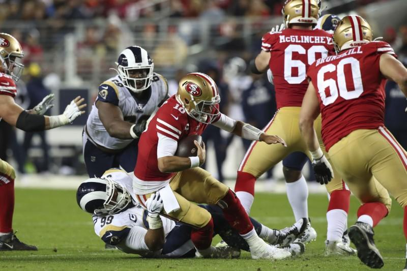 Nfl Roundup Garoppolo 49ers Eliminate Rams On Late Drive
