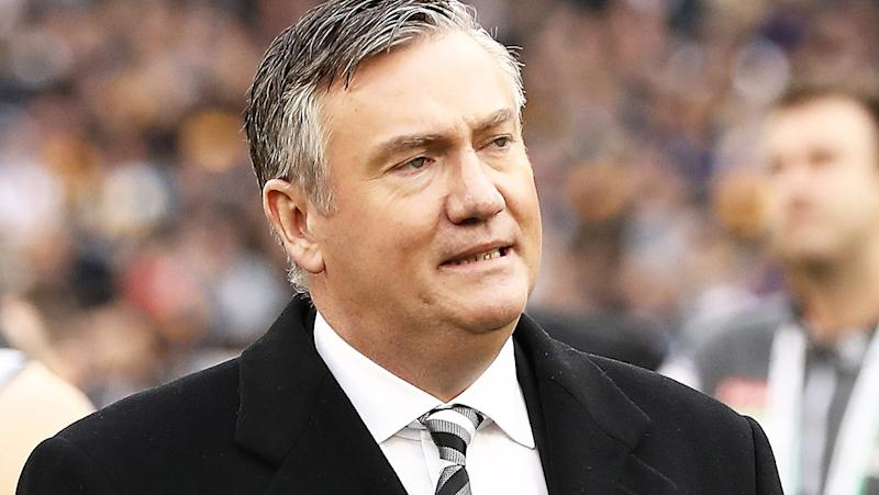 Eddie McGuire, pictured here after the 2018 AFL grand final.