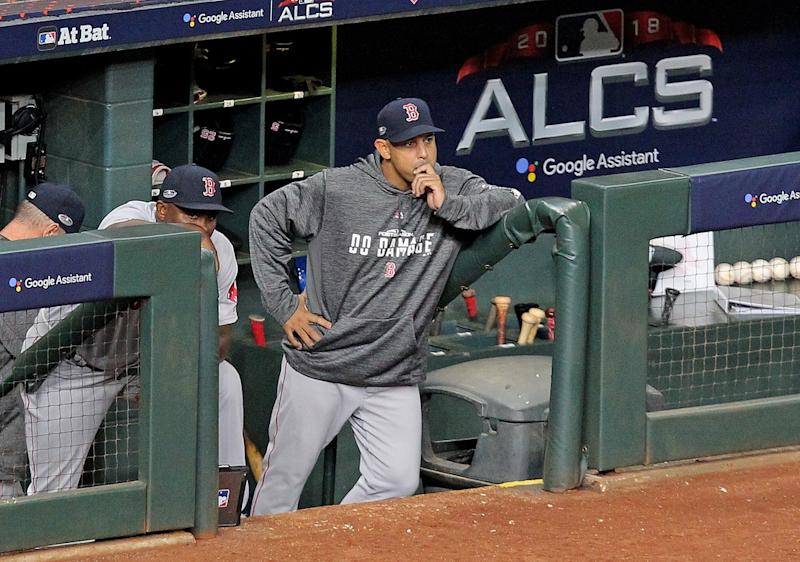 MLB Investigating Astros Employee For Videotaping Red Sox's Dugout
