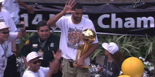 Spurs celebrate NBA title