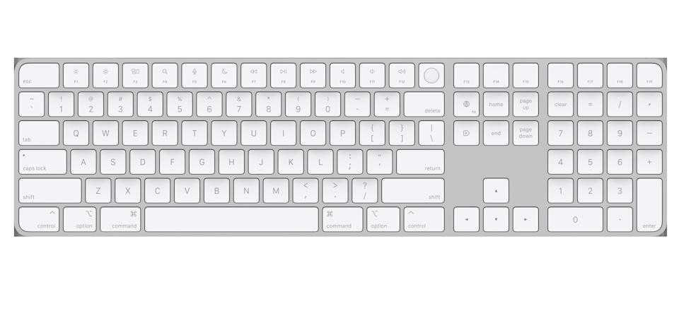 Apple Magic Keyboard with Touch ID and Number Pad