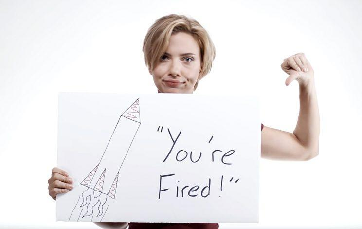 ScarJo will not be casting her vote for The Donald. (Photo: Youtube)