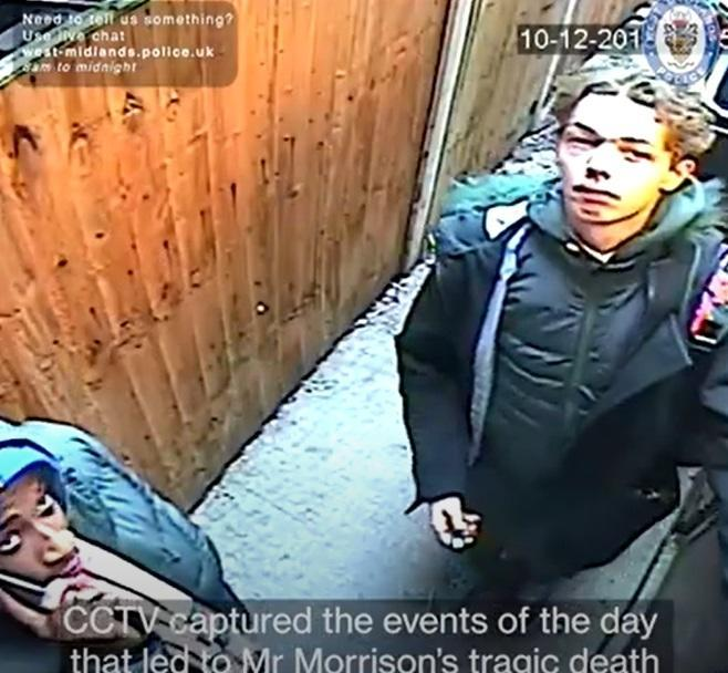 Mohamed and Knowles on CCTV