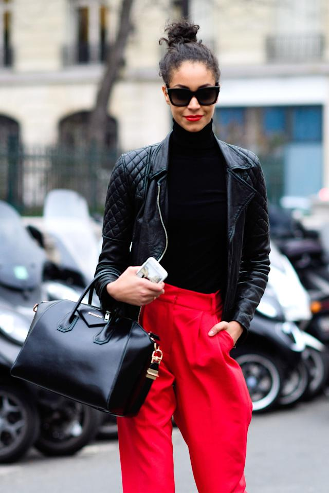Bonjour Couture The Best Street Style From Paris