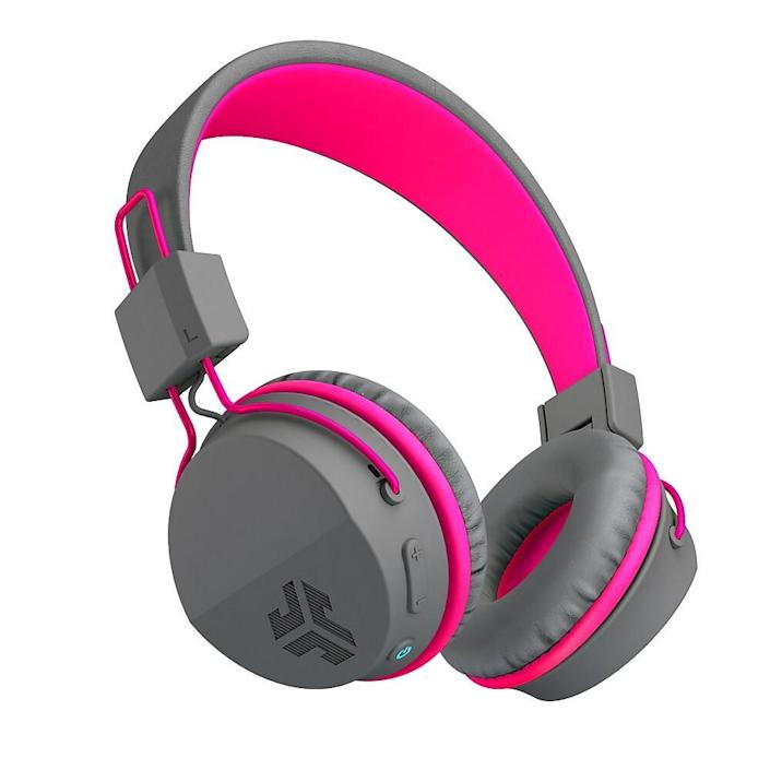 Jlab Buddies Studio Kids Wireless Headphones. Image via Staples.