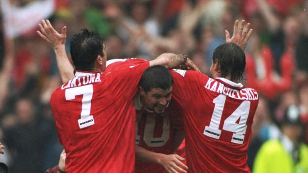 <p>Kanchelskis: I was lucky to play with Manchester United great Cantona</p>
