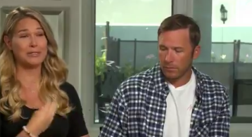 The couple discussed the tragedy for the first time in an interview (Today show)