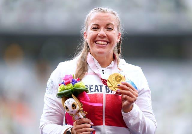Great Britain's Hannah Cockroft has seven Paralympic gold medals