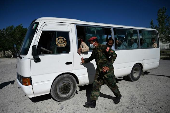 Afghan authorities have so far freed 3,000 Taliban inmates while the insurgents have released more than 750 government prisoners (AFP Photo/Wakil KOHSAR)