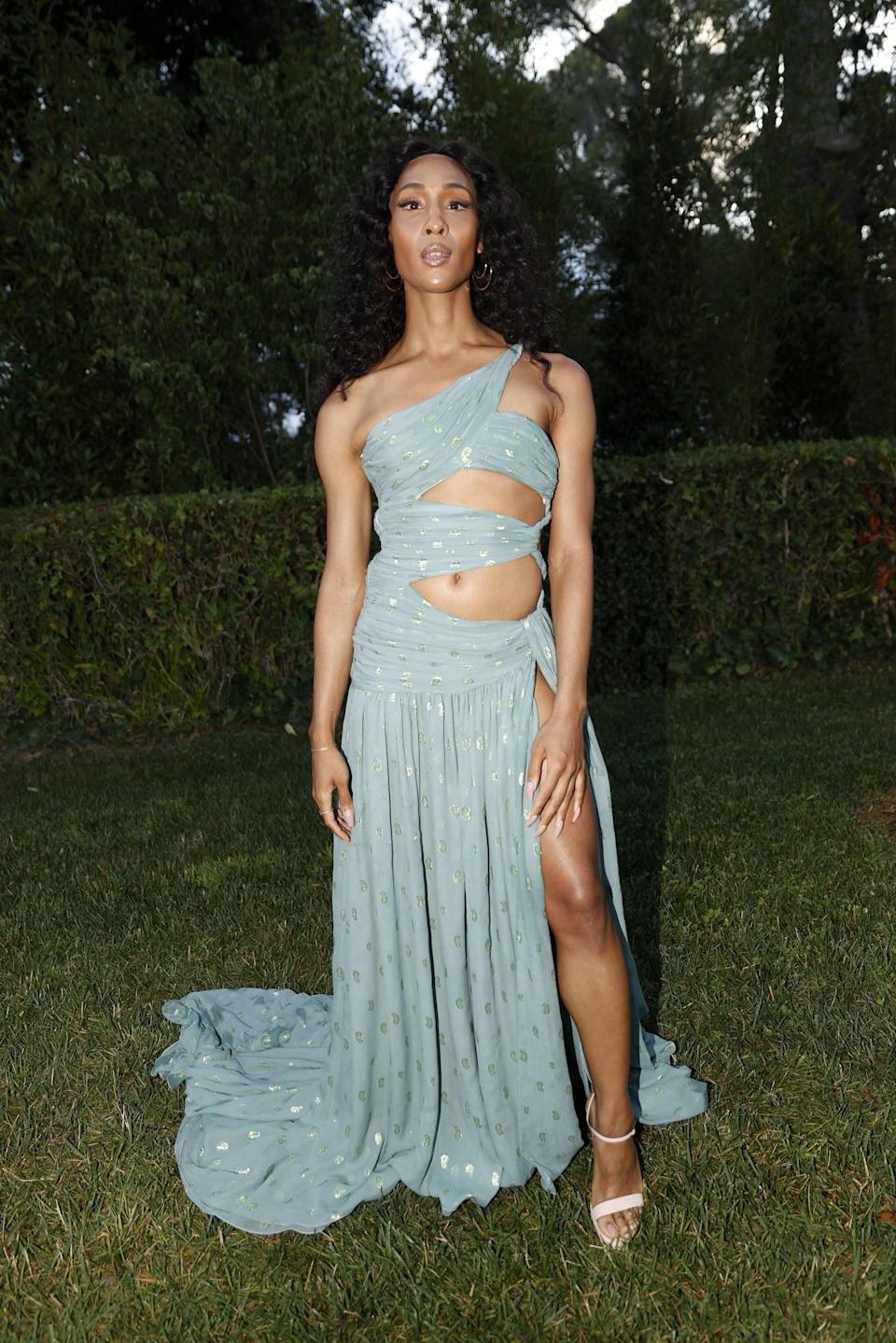 """<p>If you have a fancy occasion to attend, follow in Mj Rodriguez's footsteps with this <a href=""""https://www.popsugar.com/fashion/mj-rodriguez-cannes-amfar-gala-outfit-48423288"""" class=""""link rapid-noclick-resp"""" rel=""""nofollow noopener"""" target=""""_blank"""" data-ylk=""""slk:seafoam-green Etro gown"""">seafoam-green Etro gown</a> at the Cannes Film Festival.</p>"""