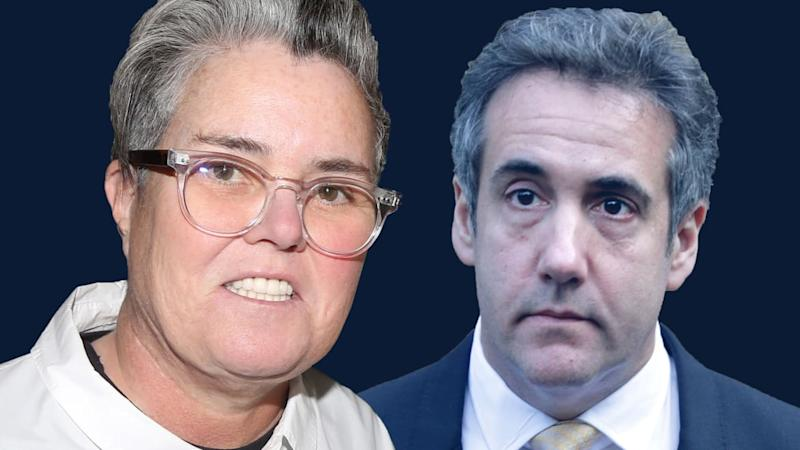 Rosie O'Donnell Reveals She's Helping Michael Cohen With His 'Spicy' Trump Tell-All Book
