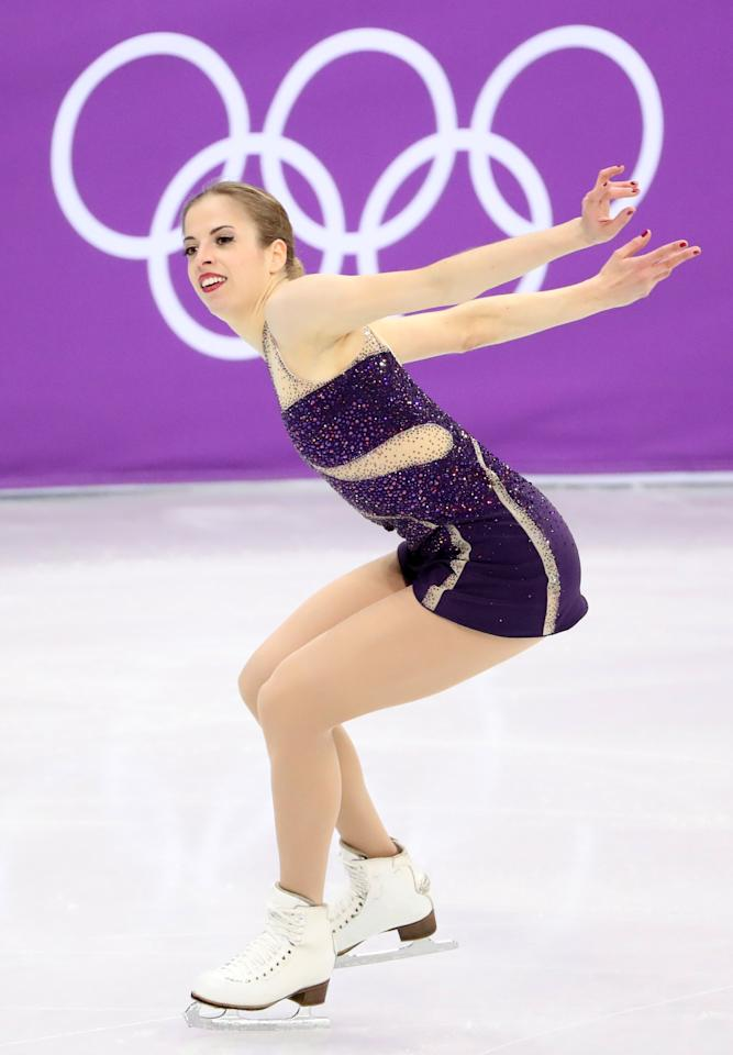 <p>Carolina Kostner is one of the oldest competitors in the field at 31 and competing in her fourth Olympics. But the Italian figure skater is also the 2014 Olympic bronze medalist and capable of getting back onto the podium. </p>