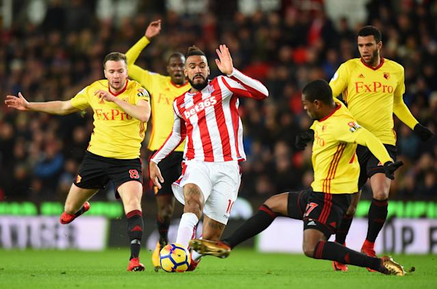 Stoke City booed off after Paul Lambert's third game in charge as Potters draw blank against Watford