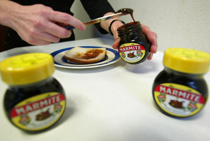 Marmite, a popular British savoury spread, is among brand names pulled off the online store of leading supermarket chain Tesco after Unilever reportedly demanded price hikes