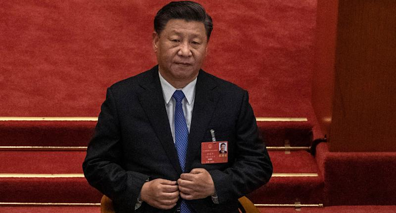 Chinese president Xi Jinping pictured as tourists are urged to stay out of Australia. Source: Getty Images