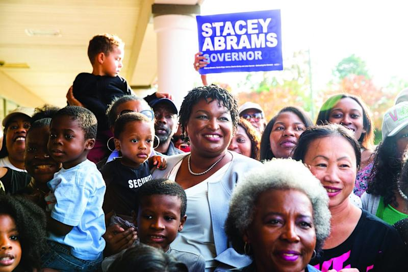 Stacey Abrams in 'And She Could Be Next' (PBS)