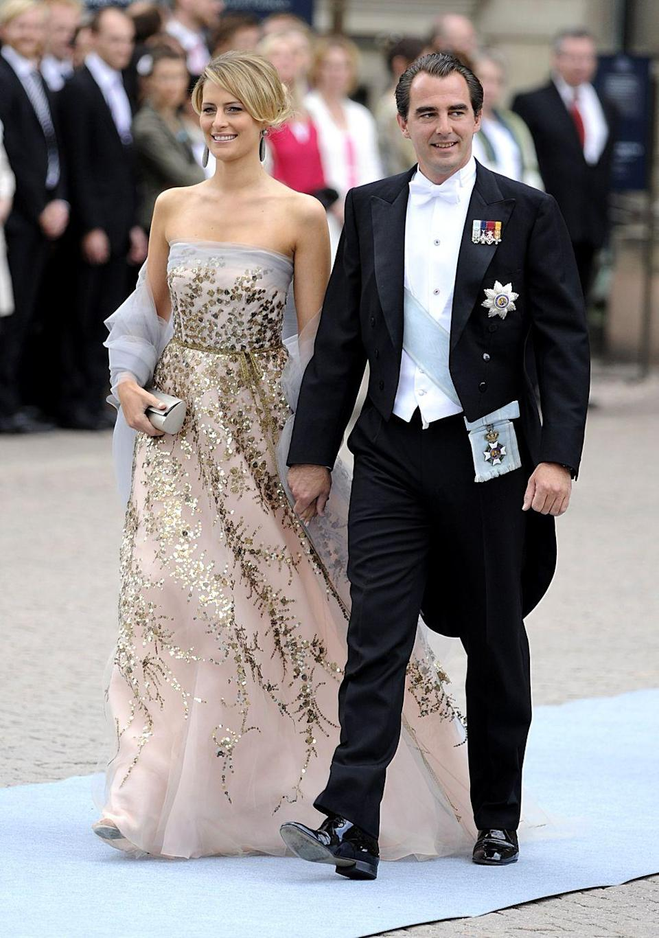 <p>A former event planner and consultant for Diane von Furstenberg, she became known as Princess Tatiana of Greece and Denmark when she wed Prince Nikolaos in 2010. Born in Venezuela and raised in Switzerland, she graduated Georgetown University in Washington, D.C. </p>