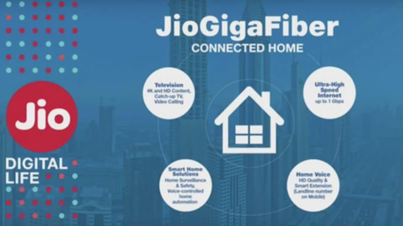Reliance Jio GigaFiber: Here
