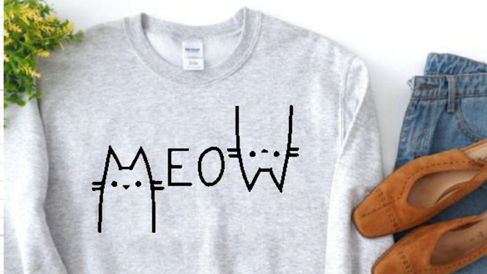 Best cat gifts: Meow Sweater