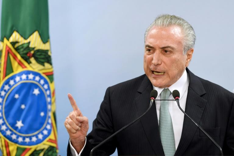 Brazil's President Michel Temer has denied any wrongdoing