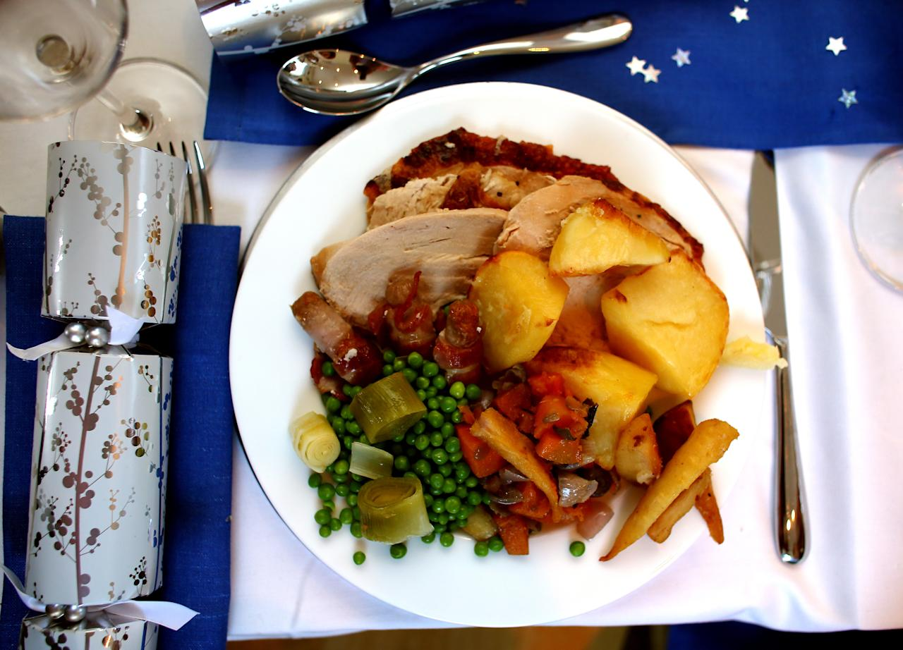 <p>Up 12.4%: The main event, the roast turkey, is likely to gobble up more of your Christmas food budget this year, with the cheapest bird found by Good Housekeeping costing £8.99, up 99p on last year. (David Davies/PA) </p>