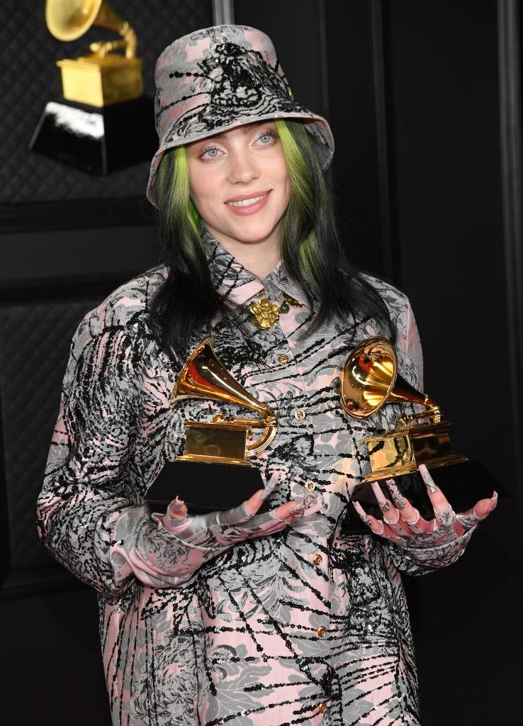 Billie Eilish's latest album includes a song written with her frustration with