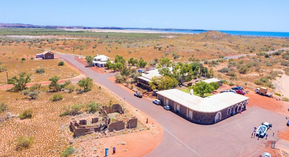 Image of town of Cossack in WA up for sale population of 2
