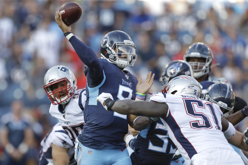 ec7918b7 Time for Titans to work on lessons learned vs. Patriots