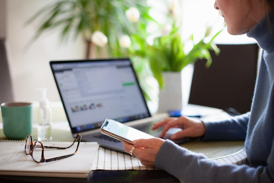 From working from home to home schooling online we're using the Internet more during coronavirus outbreak. (Getty Images)