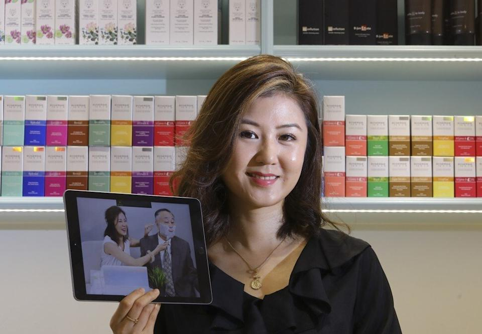 Erica Yuen, chairwoman of listed beauty product firm Mi Ming Mart. Photo: Dickson Lee