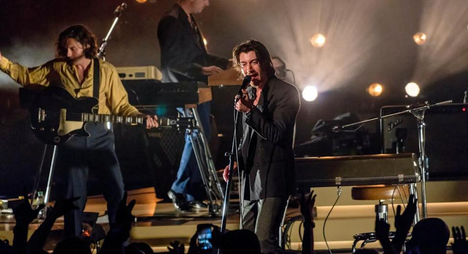 Les Arctic Monkeys sur la scène du Royal Albert Hall à Londres le 7 juin 2018 © flickr / Raph_PH