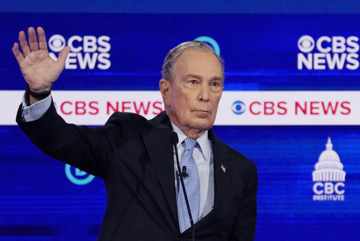 Mike Bloomberg. (Jonathan Ernst/Reuters)
