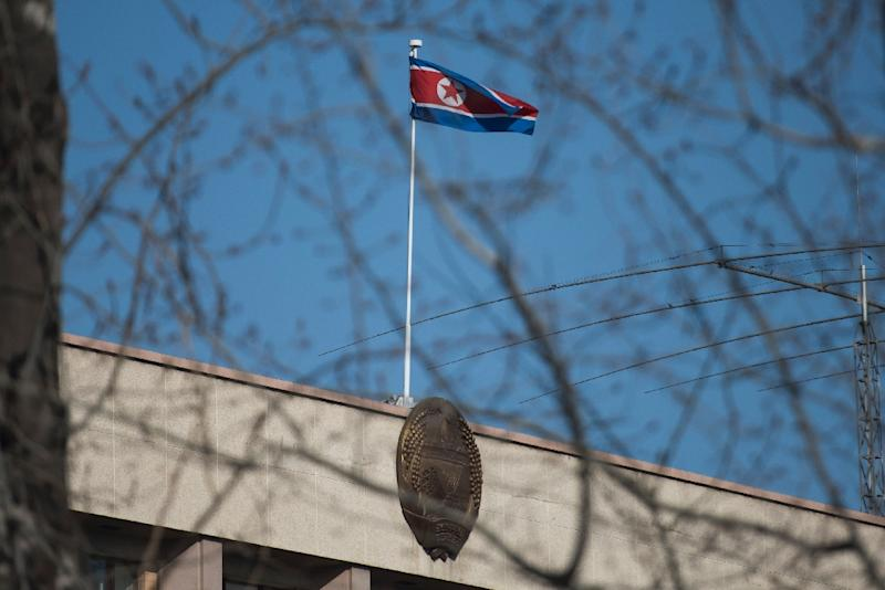 Reports suggest that at least one North Korean embassy official in Beijing has defected (AFP Photo/Fred Dufour)