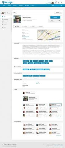 Available this month, Cornerstone OnDemand's new Universal Profiles feature aggregates user informat ...