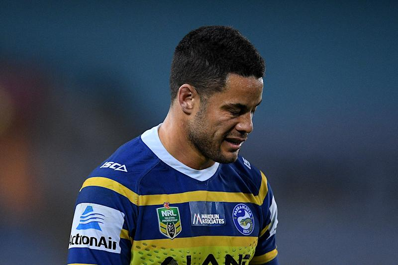 Jarryd Hayne has been arrested by Sydney police