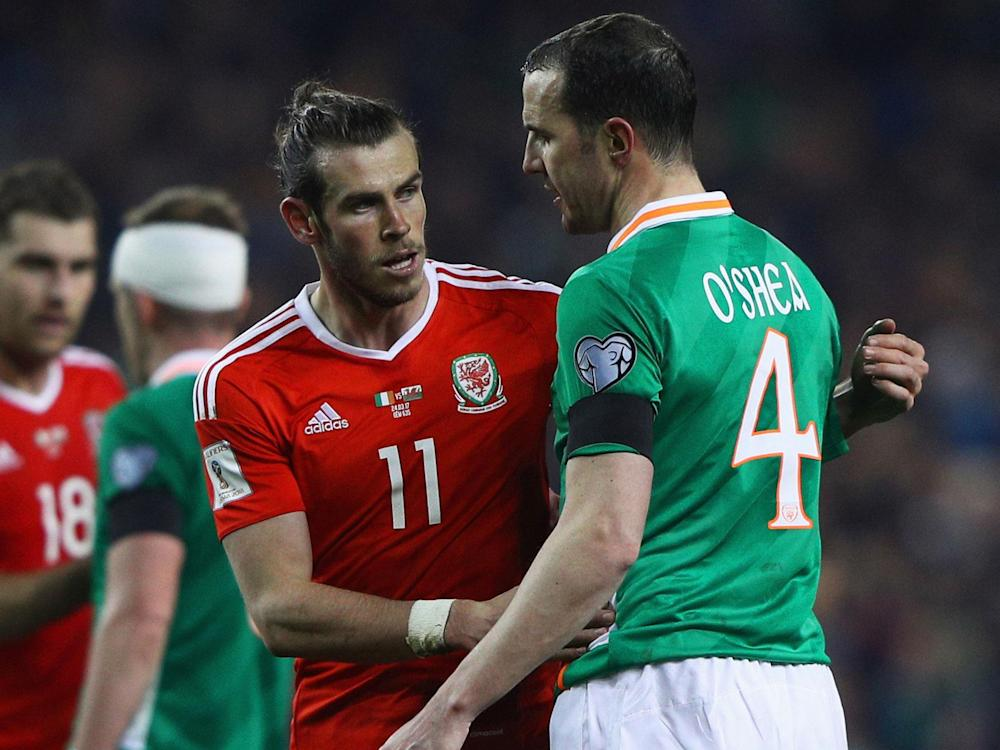 John O'Shea believes Gareth Bale's lunge could've left him badly injured: Getty